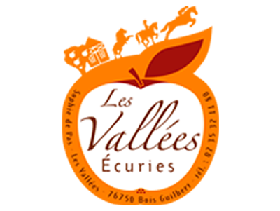 Website of the riding school Les écuries des Vallées